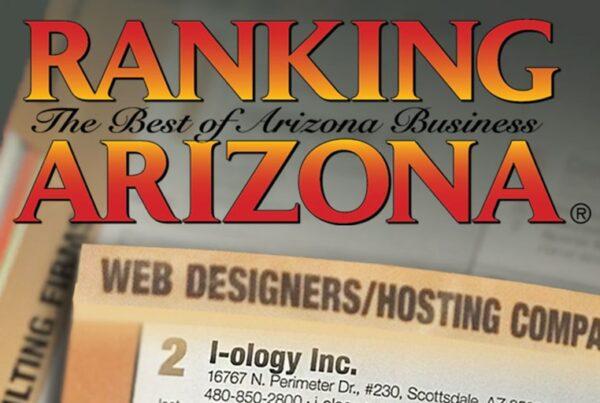 I-ology Ranks 2nd in Ranking Arizona