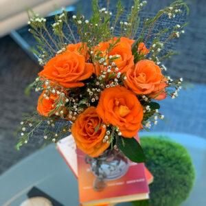 I-ology 21 years celebration flowers