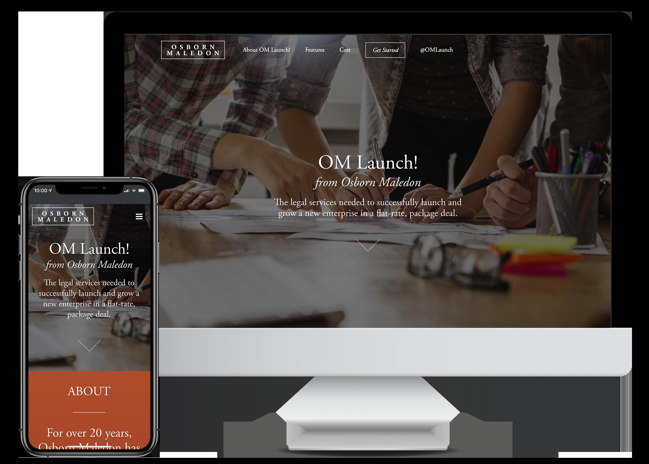I-ology Work Samples - OM Launch