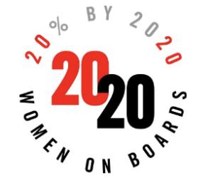 2020 Women on Boards Logo