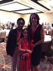 Trish Bear at Special Olympics Arizona Breakfast with Champions