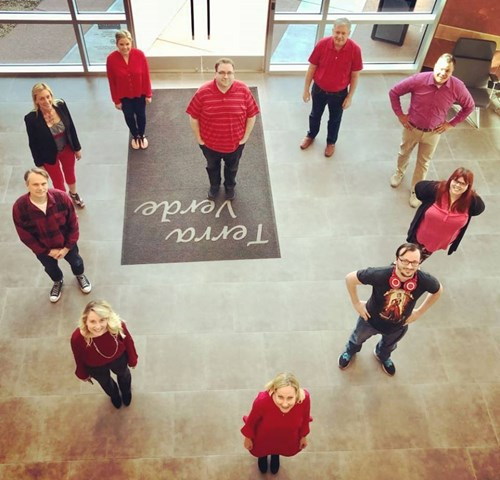 I-ology Participates in Wears Red Day 2018