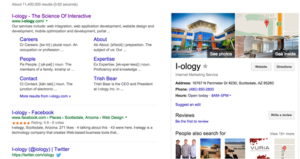 I-ology Search Engine Results