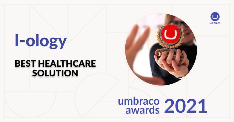 Umbraco award winner for Best Healthcare Solution